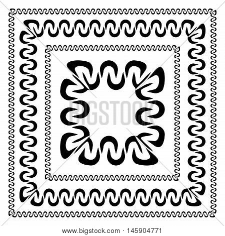 Set Of Decorative Frames In Different Sizes. Decorative Frames, Borders