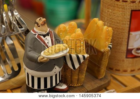 baker figure toy figure baker toy and miniature muffins