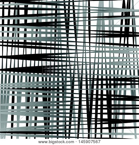 Irregular Mesh, Grid With Random Lines. Abstract Geometric Texture.