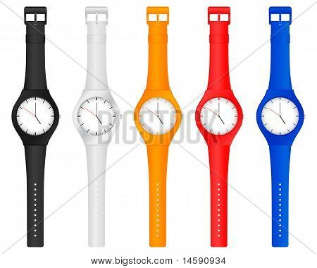 Color Wristwatch