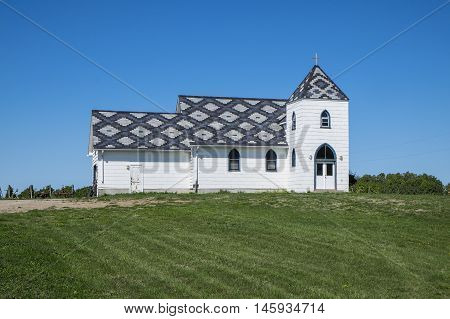 Christ Church at Closson Chase Winery Prince Edward County