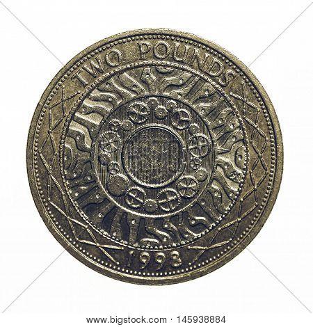Vintage Pound Coin - 2 Pounds