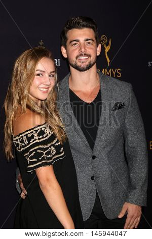LOS ANGELES - AUG 24:  Lexi Ainsworth, John DeLuca at the Daytime TV Celebrates Emmy Season  at the Television Academy - Saban Media Center on August 24, 2016 in North Hollywood, CA