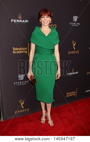 LOS ANGELES - AUG 22:  Carrie Preston at the Television Academy's Performers Peer Group Celebration at the Montage Hotel on August 22, 2016 in Beverly Hills, CA