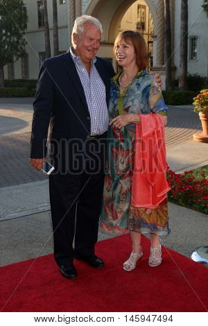 LOS ANGELES - AUG 31:  Peter Jason, Kathy Baker at the