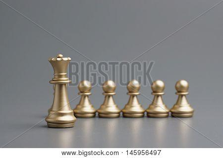 Golden Queen Chess