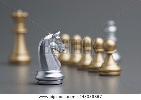 Silver Knight Chess