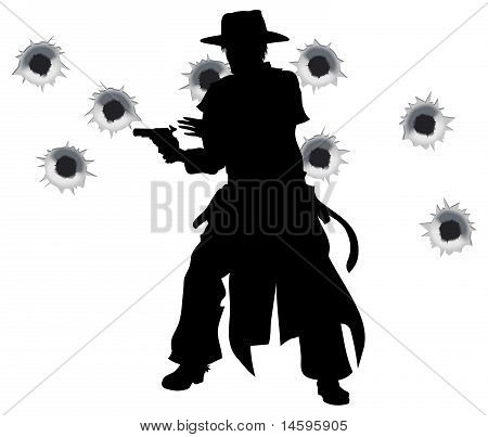 Gun Slinger Western Shoot-out