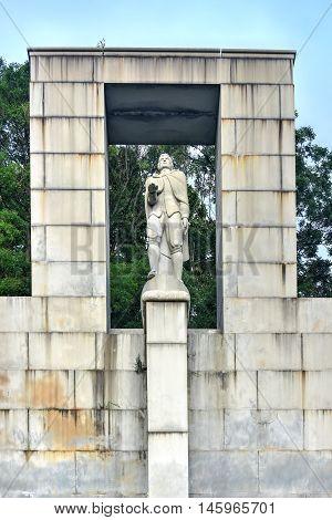 Roger Williams Statue - Prospect Terrace Park