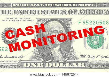 Cash Monitoring Concept