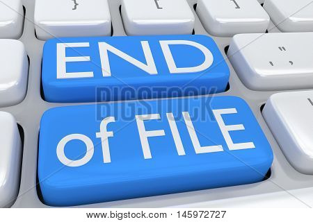 End Of File Concept