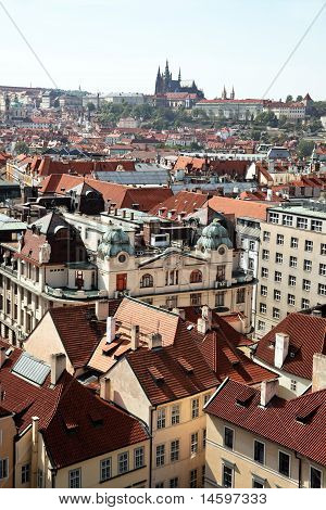 Prague, Old Town Square, City View