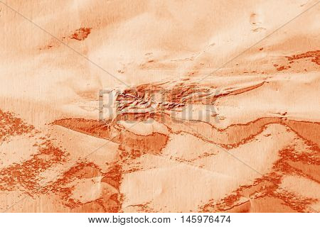 Shiny Foil Texture For Background. Rose Gold Color