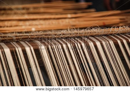 Traditional weave in the north of Thailand