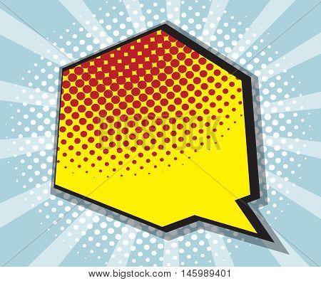 pop art comic book comic background speech bubble comic vector illustration