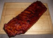 Big & Juicy Slab of B.B.Q. Ribs