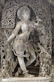 stock photo of belur  - an intricate design in an ancient hindu templean intricate design in an ancient hindu temple - JPG