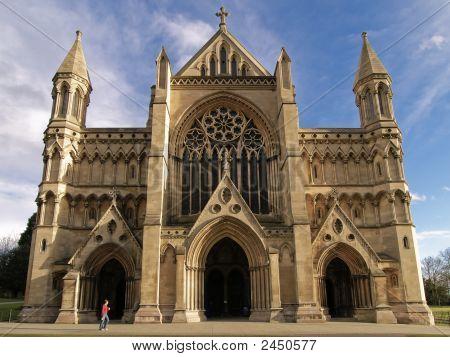 St Albans Abbey Front