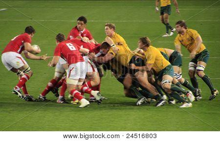 Rugby World Cup 2011 Australien gegen wales