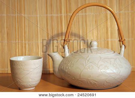White teaset