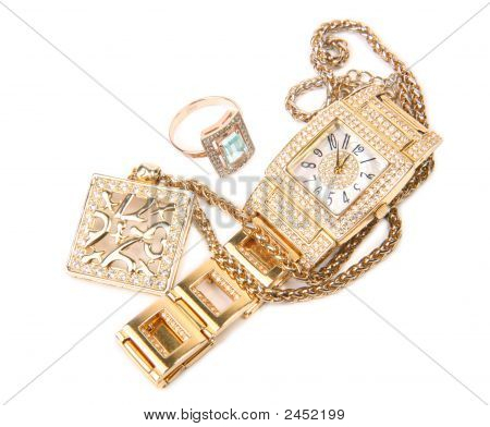 Conjunto de jóias
