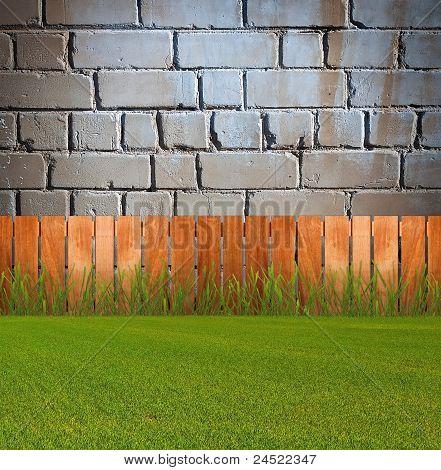 Green Grassin Garden