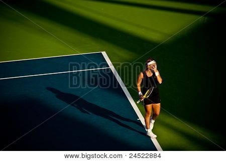 Svetlana Kuznetsova at Barclays Dubai Tennis Championship 2010