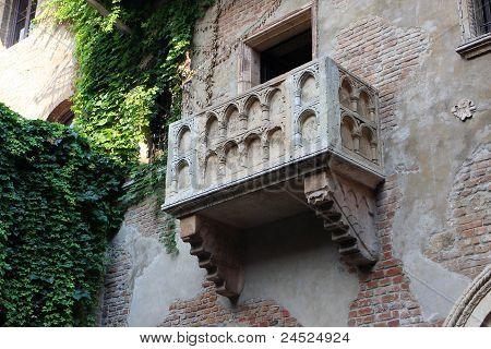 Julias Balkon, Verona