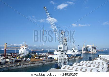 Gibraltar Dockyard