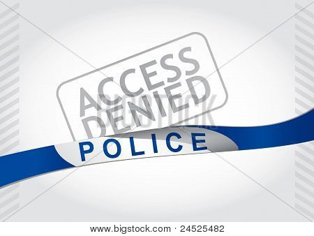 Access Denied, Police Strip