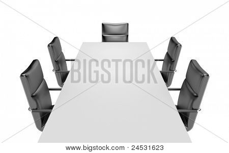 Meeting room. Image contain clipping path