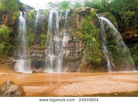 Las Cuevas Waterfalls, Bolivia