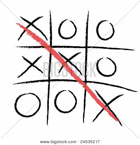 Tic-tac-toe winning