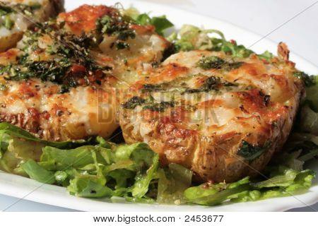 Elegant Stuffed Baked Potatoes (Vegetarian)