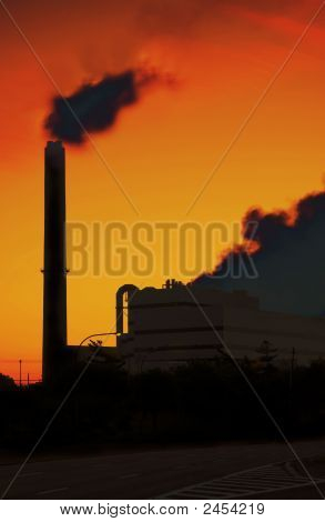 Emissions From Power Plant