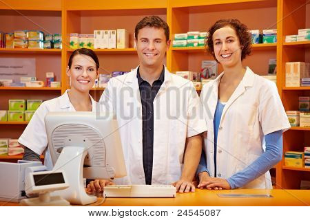 Competent Pharmacy Team