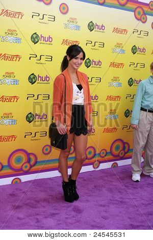 LOS ANGELES - OCT 22:  Josie Loren arriving at the 2011 Variety Power of Youth Evemt at the Paramount Studios on October 22, 2011 in Los Angeles, CA