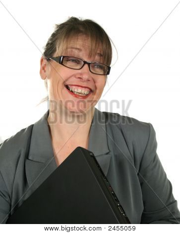 Businesswoman With Laptop 4