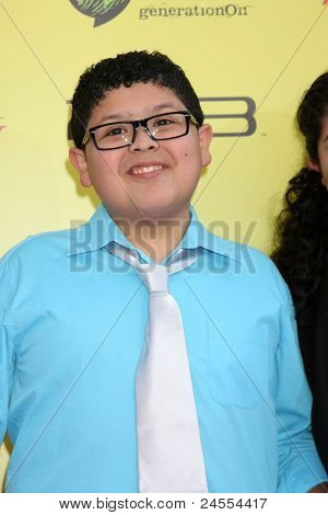 LOS ANGELES - OCT 22:  Rico Rodriguez arriving at the 2011 Variety Power of Youth Evemt at the Paramount Studios on October 22, 2011 in Los Angeles, CA