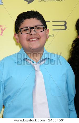 LOS ANGELES - OCT 22:  Rico Rodriguez arriving at the 2011 Variety Power of Youth Event at the Paramount Studios on October 22, 2011 in Los Angeles, CA