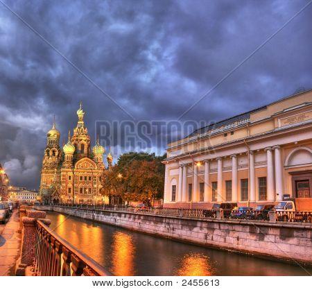 Night In Saint-Petersburg