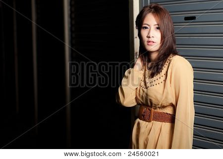 Fashion Beauty Asian Girl