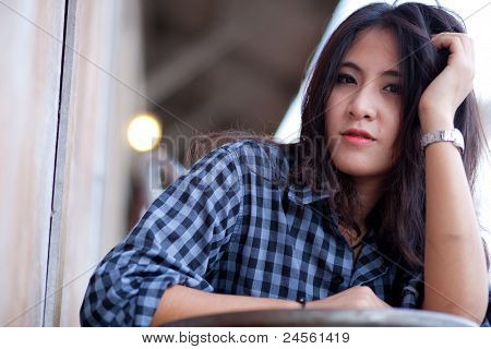 Portrait Asian Girl