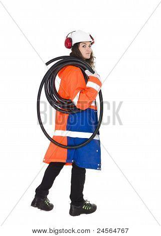 Female Constructionworker