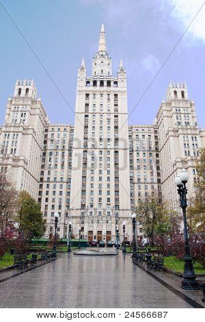 Many-storeyed Building