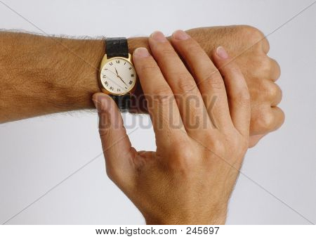Checking The Time