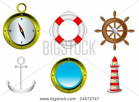 Segeln-Symbole