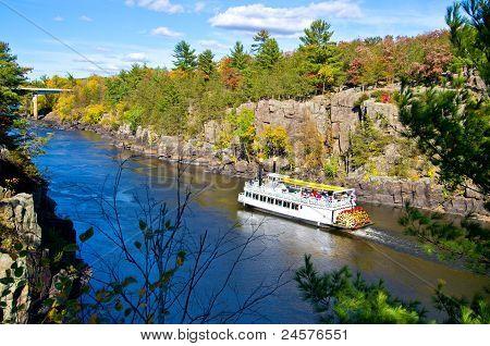 Paddleboat, Autumn