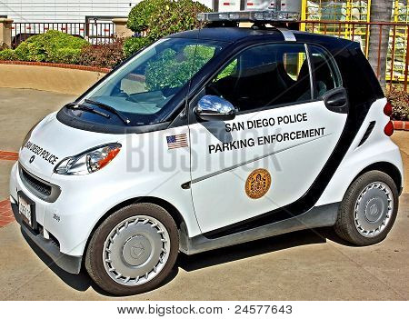 Hybrid Parking Enforcement Vehicle