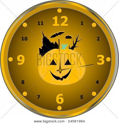 Time to celebrate party isolated clock vector